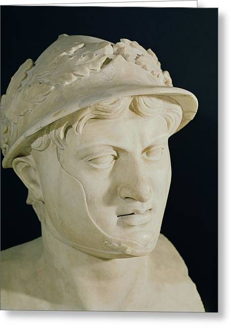 Bust Of Pyrrhus Greeting Card by Roman