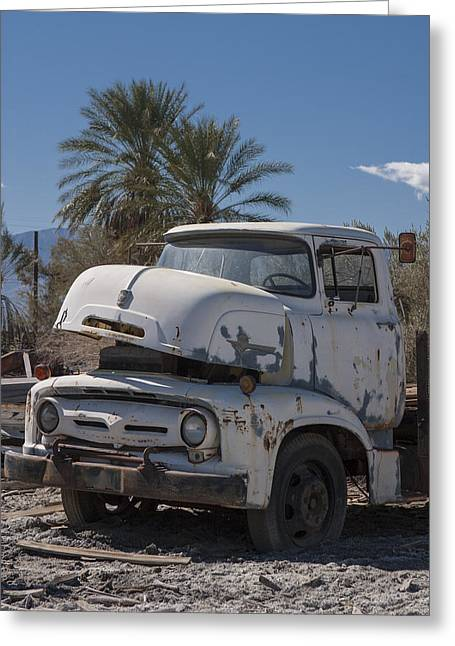 Busted B600 Truck Greeting Card by Scott Campbell