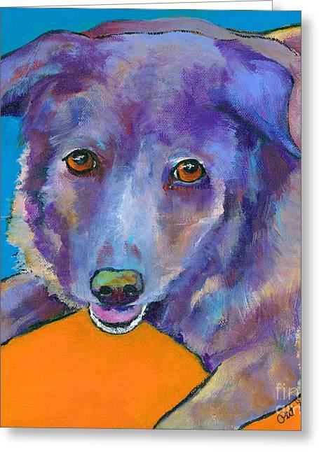 Pat Saunders-white Greeting Cards - Butch Greeting Card by Pat Saunders-White