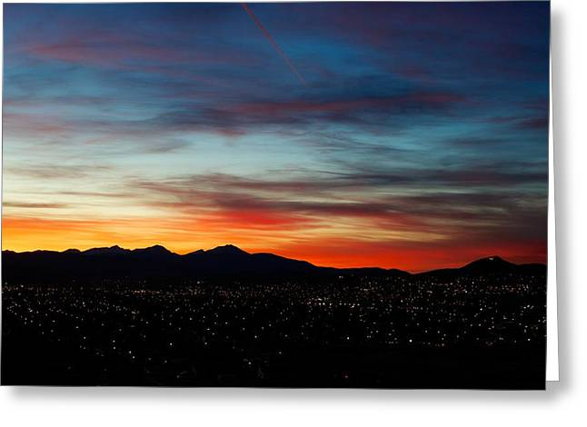Sunset Greeting Cards Greeting Cards - Butte America Greeting Card by Kevin Bone