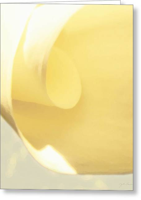 Butter Curl Greeting Card by Julie Magers Soulen