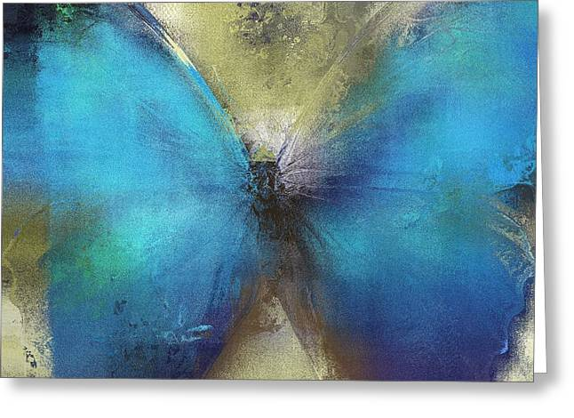 Butterfly Art - ab0101a Greeting Card by Variance Collections