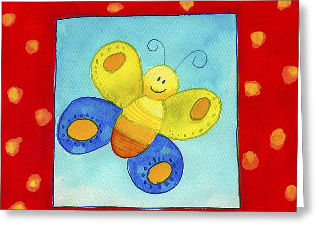 Butterfly Greeting Card by Esteban Studio