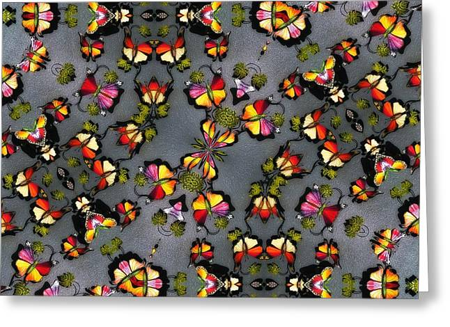 Butterfly Exodus Greeting Card by Alec Drake