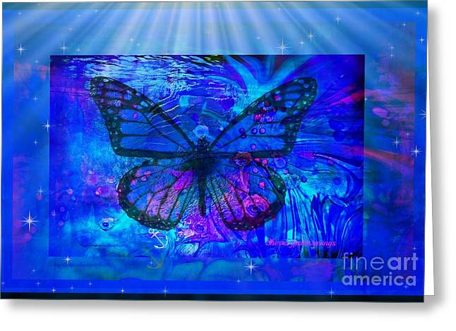 - Butterfly Heaven Greeting Card by Sherri  Of Palm Springs
