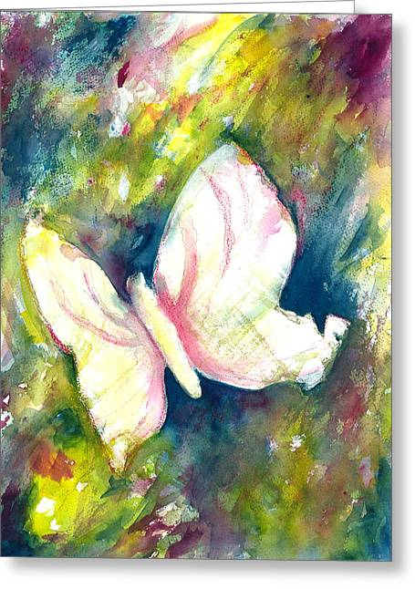 Abstract Butterfly Prints Greeting Cards - Butterfly Greeting Card by Kelly Perez