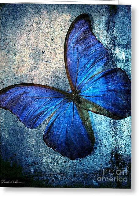 Spa Wall Decor Greeting Cards - Butterfly Greeting Card by Mark Ashkenazi