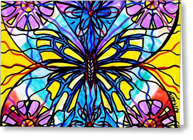 Butterfly Greeting Card by Teal Eye  Print Store