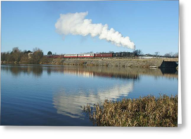 History Derbyshire Greeting Cards - Butterley Reflections Greeting Card by David Birchall