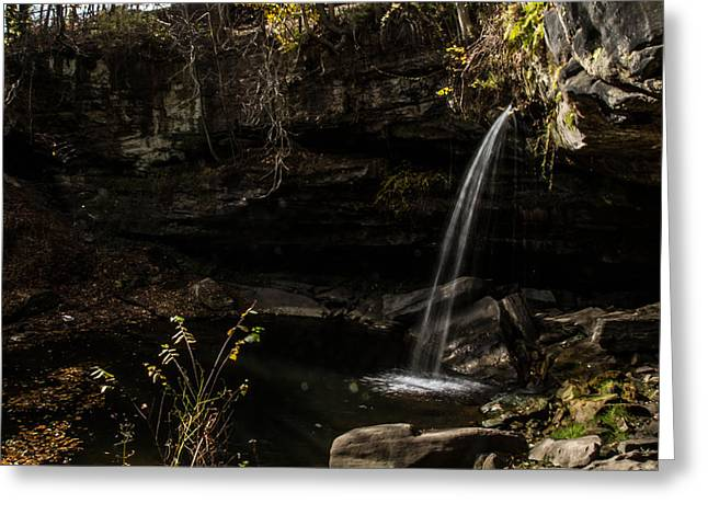 Buttermilk Falls Photographs Greeting Cards - Buttermilk Falls 1 Greeting Card by Neil Smilek