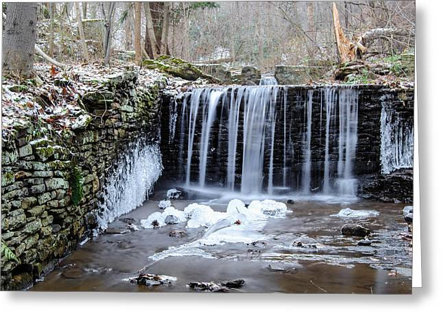 Buttermilk Falls Greeting Cards - Buttermilk Falls 2 Greeting Card by Anthony Thomas