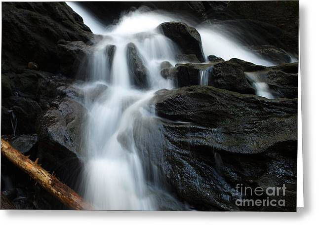 Buttermilk Falls Greeting Cards - Buttermilk Falls Greeting Card by Frank Piercy