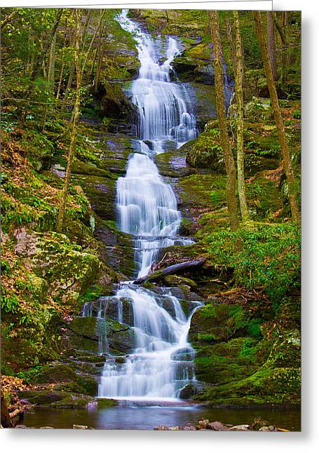 Buttermilk Falls Greeting Cards - Buttermilk Falls Greeting Card by Kenneth  Jaeger