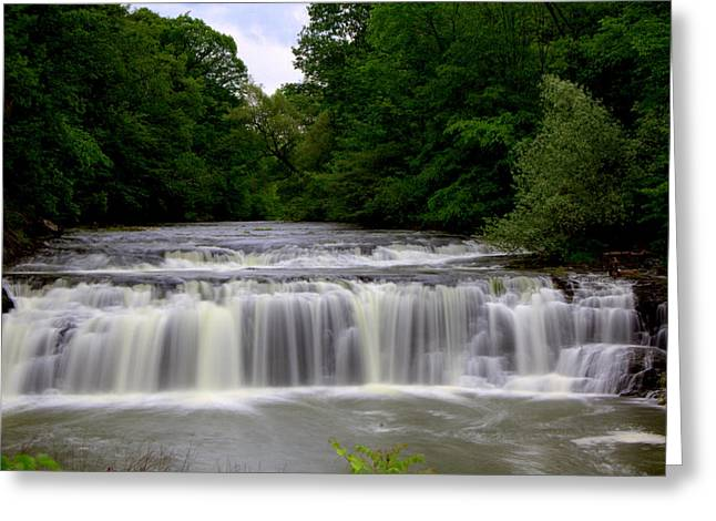 Buttermilk Falls Greeting Cards - Buttermilk Falls Greeting Card by Pat Marzinsky