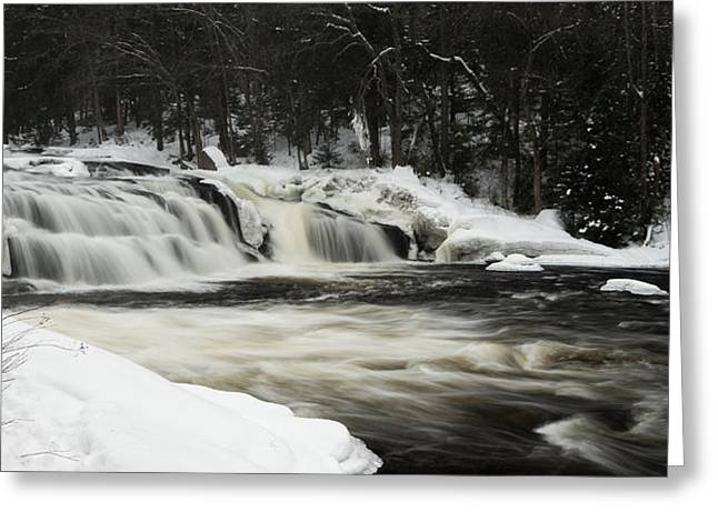 Buttermilk Falls Greeting Cards - Buttermilk Falls Greeting Card by Sara Foss