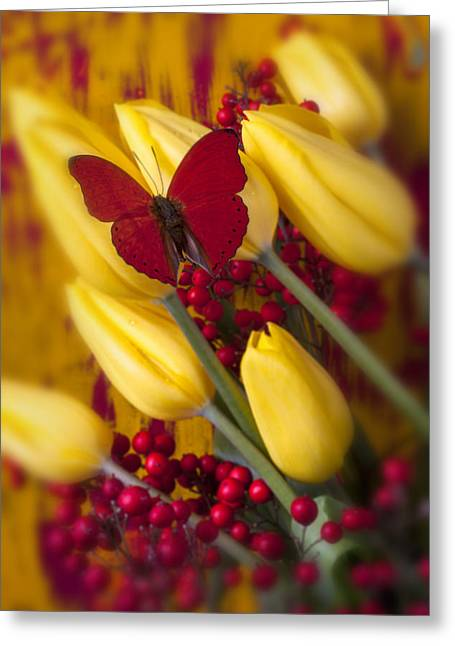 Antenna Greeting Cards - Buttery At Rest Greeting Card by Garry Gay