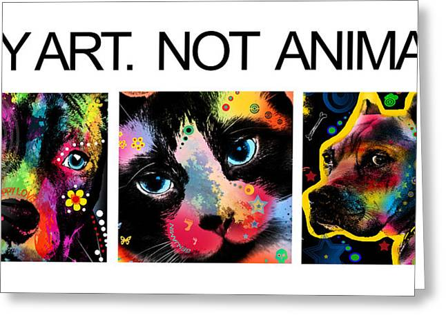 Puppies Digital Greeting Cards - Buy Art 2  Greeting Card by Mark Ashkenazi