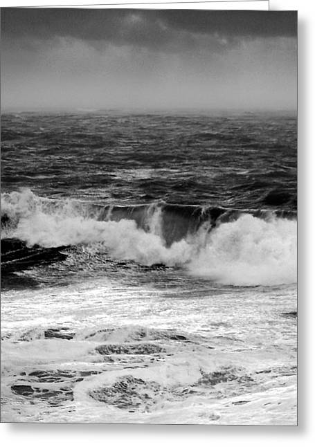 Effervescence Greeting Cards - The Sound viii Greeting Card by Paul Davenport