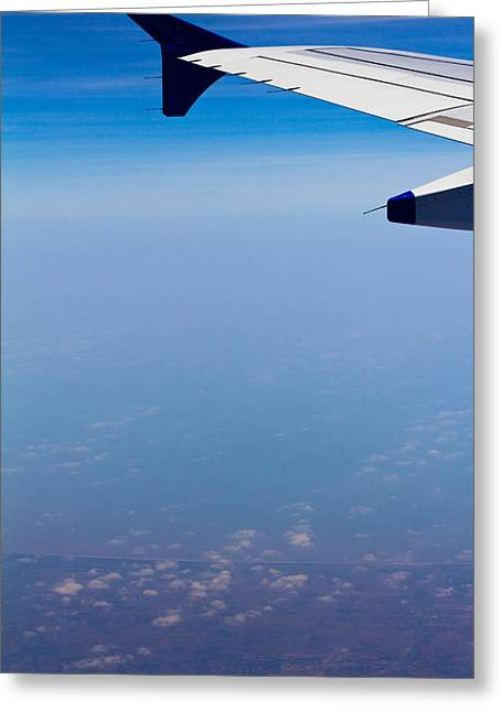 by Land Sea or Air Greeting Card by Saurav Pandey