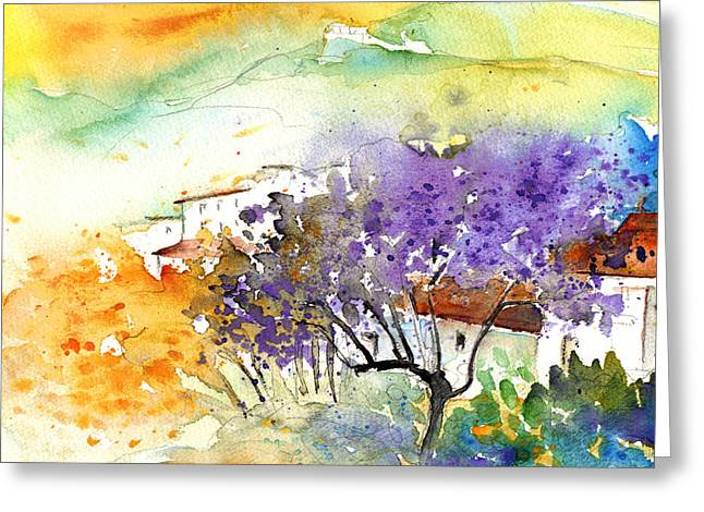 Teruel Greeting Cards - By Teruel Spain 01 Greeting Card by Miki De Goodaboom