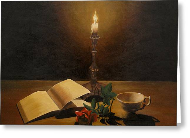 By the candle painting by andreja dujnic for Candle painting medium