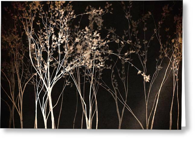 Fantasy Tree Greeting Cards - By the Light of the Moon Greeting Card by Susan Maxwell Schmidt