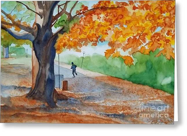 By The Rideau Canal Greeting Card by Lise PICHE
