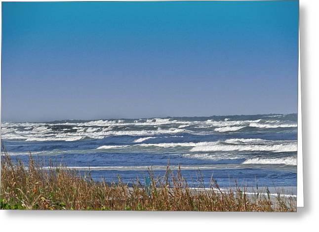 Tidal Photographs Mixed Media Greeting Cards - By The Sea Greeting Card by Dennis Dugan