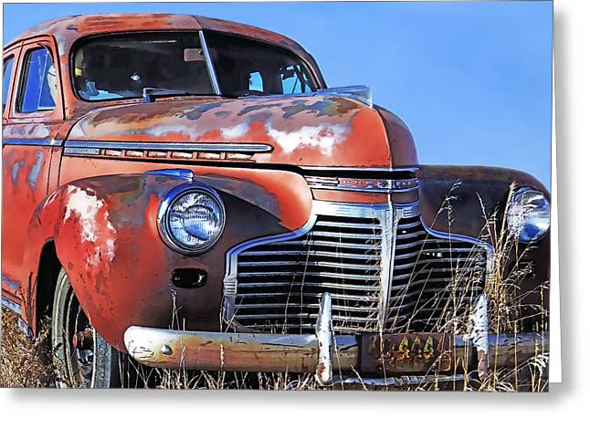 Family Car Greeting Cards - Bygone Days Greeting Card by Terril Heilman