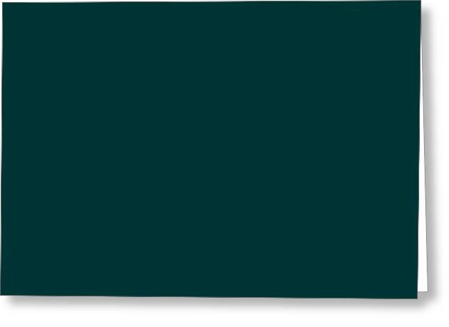 Turquoise Greeting Cards - C.1.0-51-51.7x3 Greeting Card by Gareth Lewis