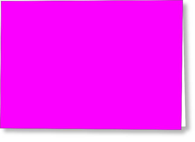 Magenta Greeting Cards - C.1.250-0-255.2x1 Greeting Card by Gareth Lewis