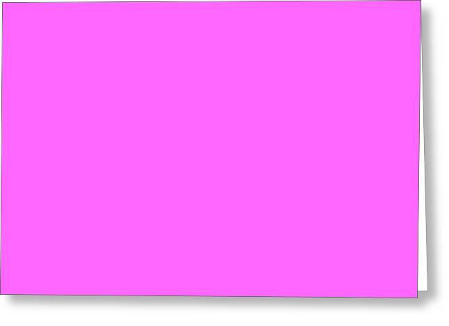 Magenta Greeting Cards - C.1.255-102-255.7x4 Greeting Card by Gareth Lewis