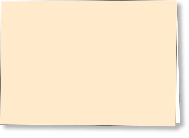 Simple Greeting Cards - C.1.255-234-204.7x3 Greeting Card by Gareth Lewis