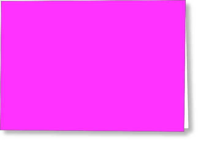 Magenta Greeting Cards - C.1.255-51-255.4x1 Greeting Card by Gareth Lewis