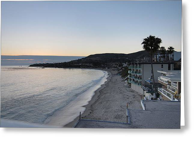 Skies Greeting Cards - CA Beach - 121224 Greeting Card by DC Photographer
