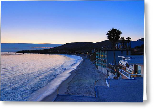 Waving Photographs Greeting Cards - CA Beach - 121237 Greeting Card by DC Photographer