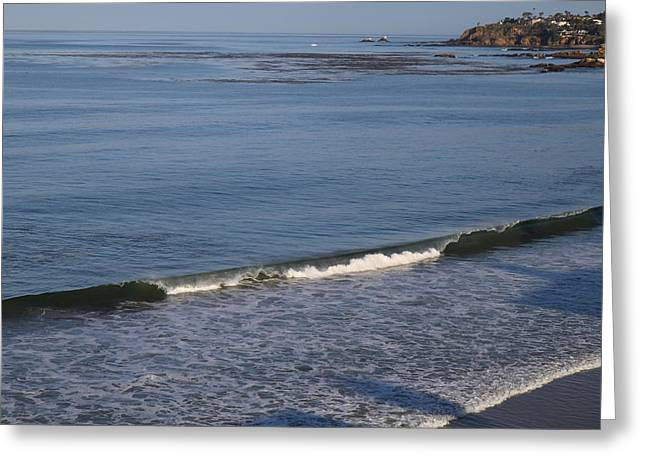 Wave Greeting Cards - CA Beach - 121267 Greeting Card by DC Photographer