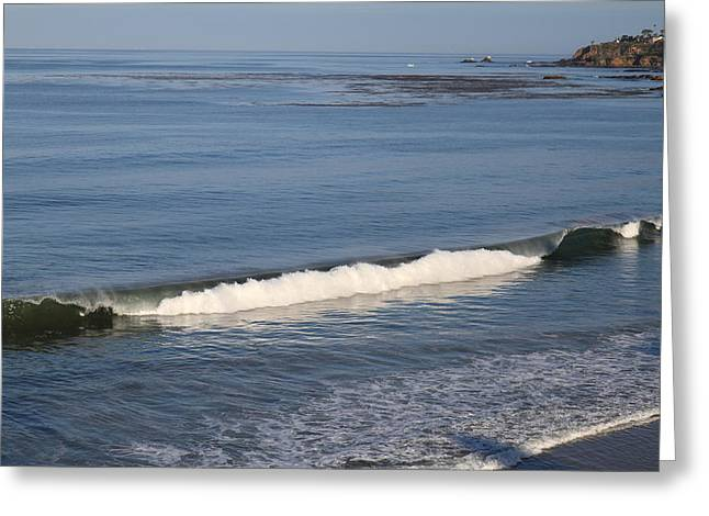 Surf Greeting Cards - CA Beach - 121271 Greeting Card by DC Photographer
