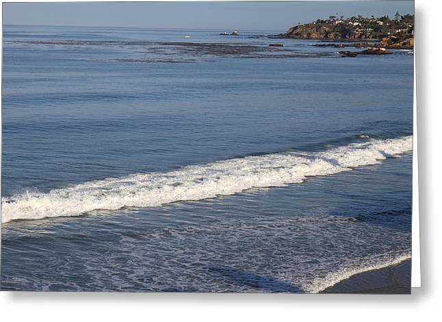 Skies Greeting Cards - CA Beach - 121280 Greeting Card by DC Photographer