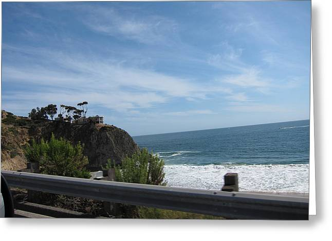 Wave Greeting Cards - CA Beach - 12129 Greeting Card by DC Photographer