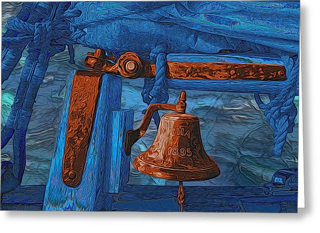 Tall Ships Greeting Cards - C. A. Thayer Greeting Card by Jack Zulli