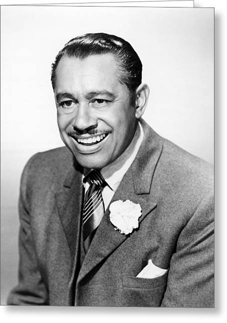 Cabs Greeting Cards - Cab Calloway Greeting Card by Silver Screen