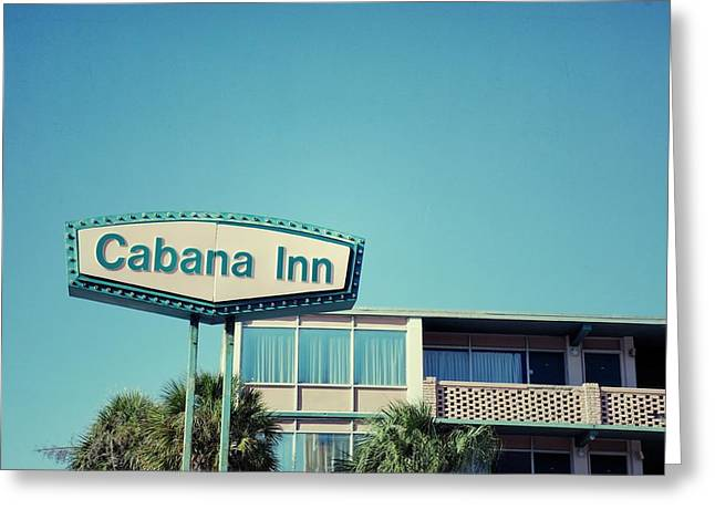 Cabanas Greeting Cards - Cabana Greeting Card by Brandon Addis