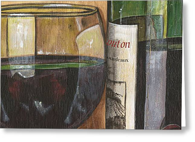 Cabernet Sauvignon Greeting Card by Debbie DeWitt
