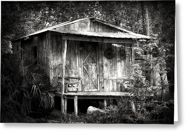 Movie Prop Greeting Cards - Cabins of Southern Louisiana Greeting Card by Photography  By Sai