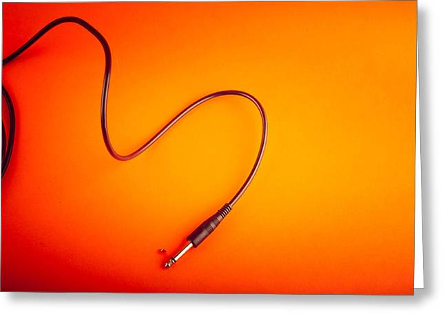 Science Greeting Cards - Cable Greeting Card by Modern Art Prints