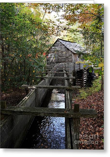 Grist Mill Greeting Cards - Cable Grist Mill 3 Greeting Card by Mel Steinhauer