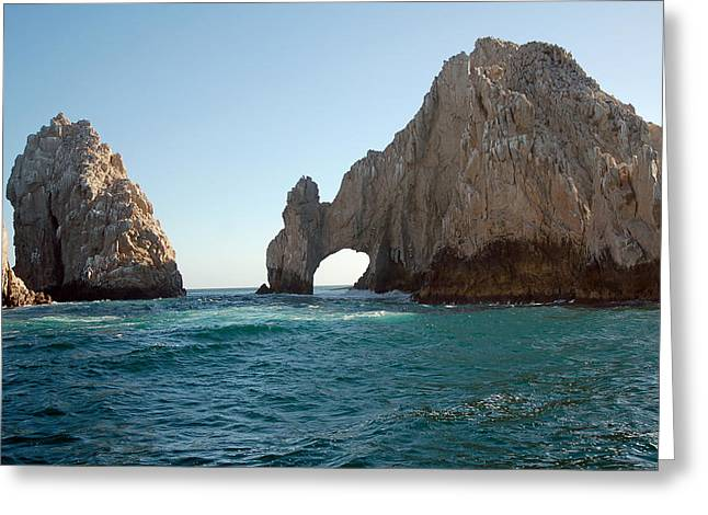 Cabo San Lucas Greeting Cards - Cabo San Lucas Greeting Card by Mesha Zelkovich