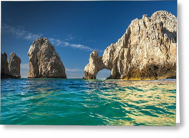 Sky Lovers Art Greeting Cards - Cabo San Lucas Greeting Card by Sebastian Musial