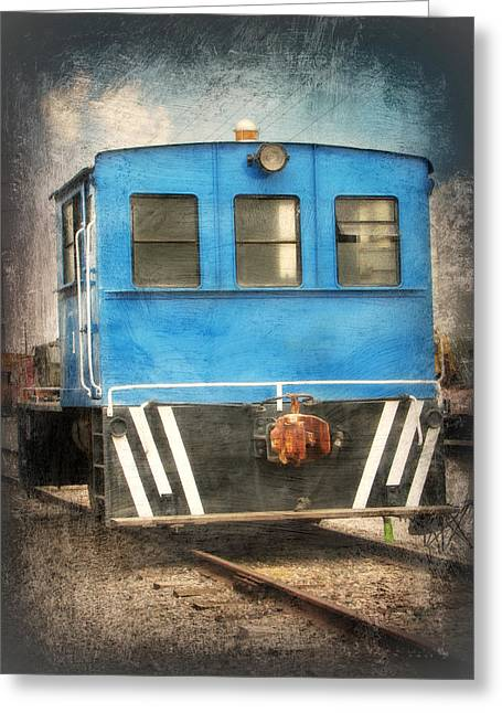 Railroads Framed Prints Greeting Cards - Caboose Greeting Card by Lisa S Baker
